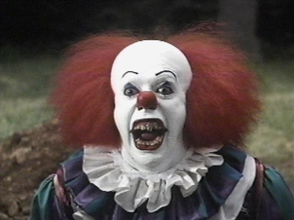 Image result for tim curry IT