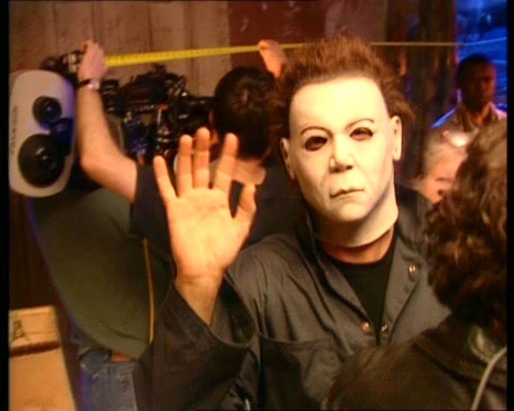 Michael Myers unmasked on the Vancouver set of Halloween ...
