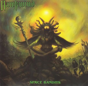 Hawkwind - Space Bandits - Front