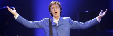 British singer Paul McCartney performs o
