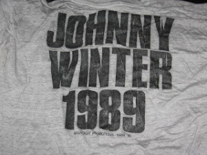 Johnny Winter 1989 Tour 2 back