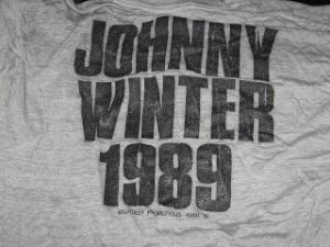 Johnny Winter 1989 Tour 2 back